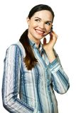 Attractive customer service representative Stock Photos