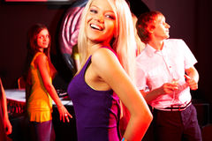 Attractive dancer Royalty Free Stock Photography