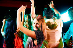 Attractive dancer Royalty Free Stock Images