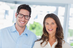 Attractive designers standing together Stock Images
