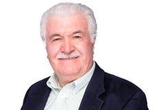 Attractive distinguished elderly gentleman Stock Photo