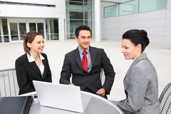 Attractive Diverse Business Team Royalty Free Stock Images