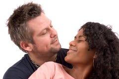 Attractive diverse couple Stock Photos