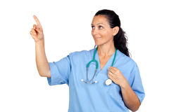 Attractive doctor woman Royalty Free Stock Photos