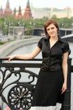 Attractive elegant woman Stock Image