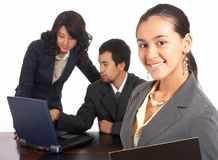 Attractive Employee Royalty Free Stock Photography