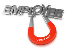 Attractive Employer and Employees Retention Program Stock Photos