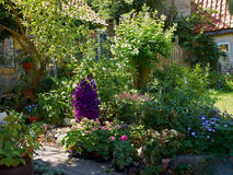 Attractive English Garden Stock Images
