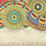 Attractive Ethnic Background Design Royalty Free Stock Photography