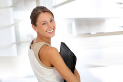 Attractive executive woman Stock Photos