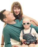 Attractive family Royalty Free Stock Image