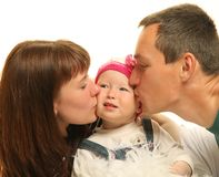 Attractive family Royalty Free Stock Photo