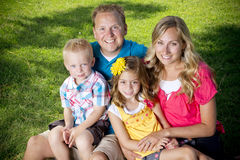 Free Attractive Family Portrait Stock Photo - 26215250
