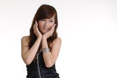 Attractive fashion lady Stock Photo