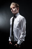 Attractive fashionable man Royalty Free Stock Photography