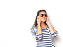 Attractive Fashionable Young Woman Stock Photography