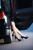 Attractive Feet Royalty Free Stock Photography