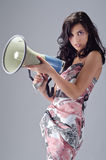 Attractive female Stock Image