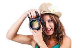 Attractive female Royalty Free Stock Photography