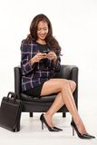 Attractive female asian businesswoman Stock Photos