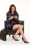 Attractive female asian businesswoman Stock Photos