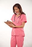 Attractive female asian nurse doctor Royalty Free Stock Photo