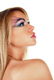 Attractive female beauty Stock Image