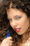 Attractive female beauty Stock Photos