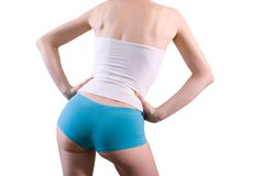 Attractive female body Royalty Free Stock Images