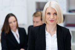 Attractive female business executive Stock Photos