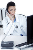 Attractive female doctor Stock Image
