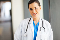 Attractive female doctor Royalty Free Stock Photos
