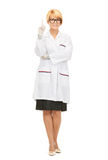 Attractive female doctor Royalty Free Stock Image