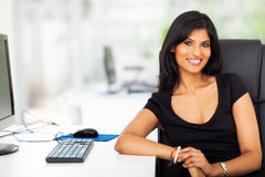 Attractive female executive Stock Photography