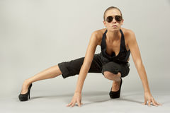 Attractive Female Model Royalty Free Stock Photo