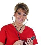 Attractive Female Nurse Royalty Free Stock Photos