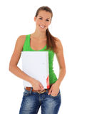 Attractive female student Royalty Free Stock Image