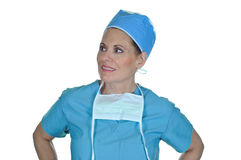 Attractive Female Surgeon Stock Photo