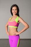 Attractive fitness woman Stock Photography
