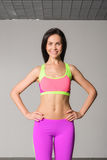 Attractive fitness woman Royalty Free Stock Photography