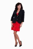 Attractive forties hispanic brunette businesswoman Royalty Free Stock Photography
