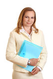 Attractive forty year' woman Stock Photos