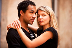 Attractive French Couple Royalty Free Stock Images