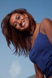 Attractive friendly twenties Indian brunette woman Stock Image