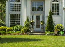 Attractive front door Royalty Free Stock Photo