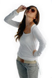 Attractive girl Royalty Free Stock Photography