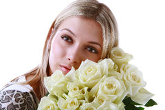 Attractive girl Stock Images
