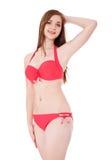 Attractive girl in bikini Stock Photos