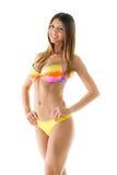 Attractive girl in a bikini Royalty Free Stock Photo