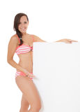 Attractive girl in bikini Royalty Free Stock Photos